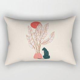 Summer panther Rectangular Pillow