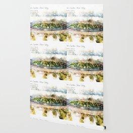 Apple Park, Aquarell Wallpaper