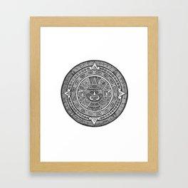Aztec Roots Framed Art Print