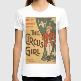 Vintage poster - The Circus Girl T-shirt