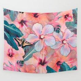 Hale Aloha Hibiscus Wall Tapestry