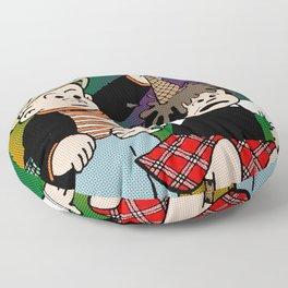 Random Acts of Nancy — Ice Cream Floor Pillow
