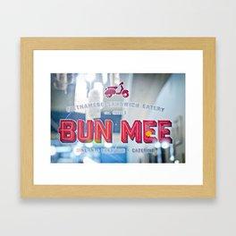 Bun Mee Framed Art Print