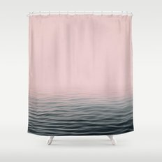 Misty sea Shower Curtain