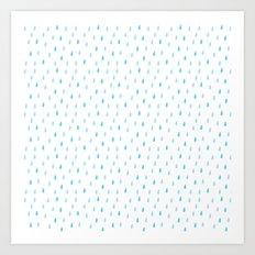 drip drop Art Print
