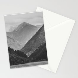 Wild mountain landscape Stationery Cards