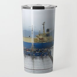 Busan port Travel Mug