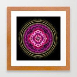 Mandala Nandini Framed Art Print