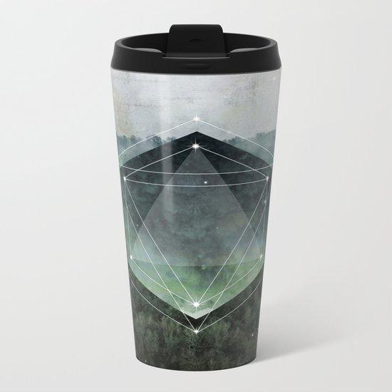 The Sacred Wood Metal Travel Mug