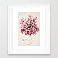 blush Framed Art Prints featuring Blush by  Robin-Lee