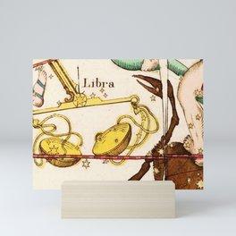 Libra and friends Mini Art Print