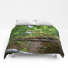 Wilderness Stream Photo Art Comforters