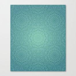 Alhambra Jade Canvas Print