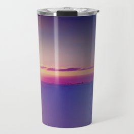 Sunset on the Atlantic Ocean Travel Mug