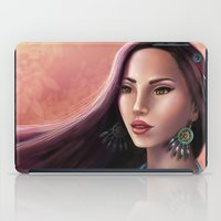 pocahontas iPad Cases featuring Pocahontas by SEA Digital Art