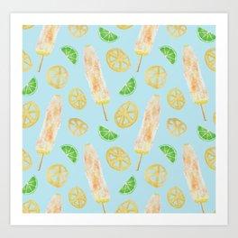 Elotes Pattern Art Print