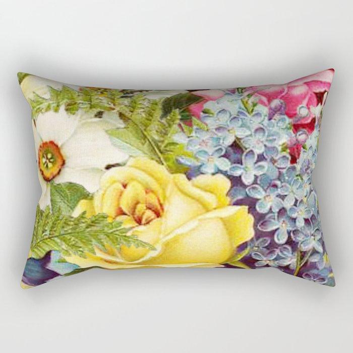 flowers profusion Rectangular Pillow
