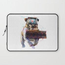 Dozer Bulldozer Laptop Sleeve