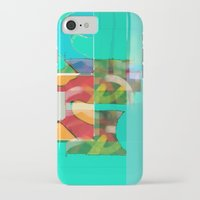 pool iPhone & iPod Cases featuring POOL by  ECOLARTE