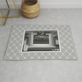 Drive-in: Plan 9 from Outer Space Rug