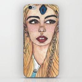 Blue Elite iPhone Skin