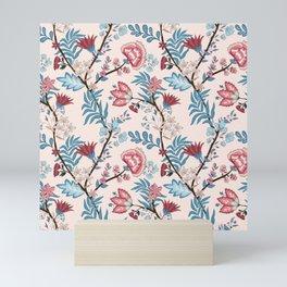 Floral pattern 8700 Mini Art Print