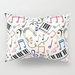 Good Beats - Music Notes & Symbols Pillow Sham
