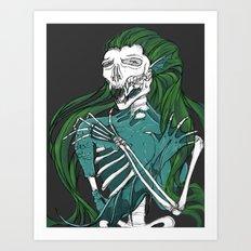 Dead Siren - Hold on Tight Art Print