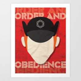 Order and Obedience Art Print
