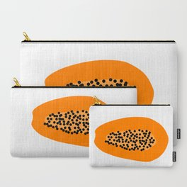 Papaya Carry-All Pouch