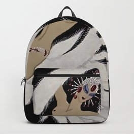"""Art Deco Exotic Design """"Circus Trapeze"""" Backpack"""