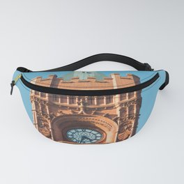 The Big Ben of Wales Cardiff Bay Pierhead Iconic Architecture Fanny Pack