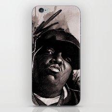 BIGGIE iPhone & iPod Skin