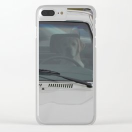 Dog Tested Clear iPhone Case