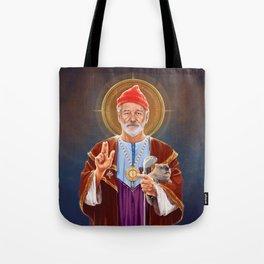 Saint Bill of Murray Tote Bag