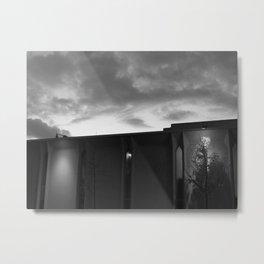 Light Frame Metal Print