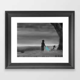 Goodbye Old Friend... Framed Art Print
