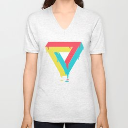Mixed up Unisex V-Neck