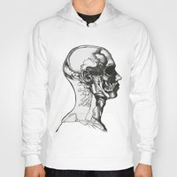 anatomy Hoodies featuring Anatomy  by Cjillustrations