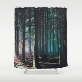the harder the heart Shower Curtain