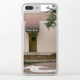 fine arts Clear iPhone Case