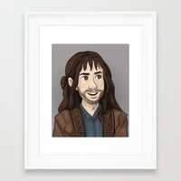 kili Framed Art Prints featuring Kili by quietsnooze
