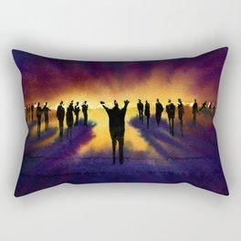 Demagogue Rectangular Pillow