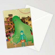 LuCCA è AbiTAtA dai MostRi Stationery Cards