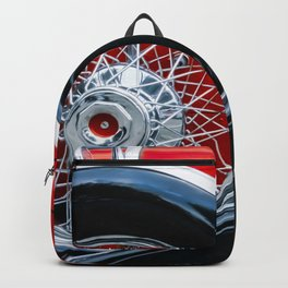 1932 Red and Black Duesenberg Phaeton Backpack