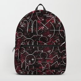 The magic of the zodiac. 2 Backpack