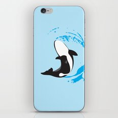 Oh Whale!   Animals iPhone & iPod Skin