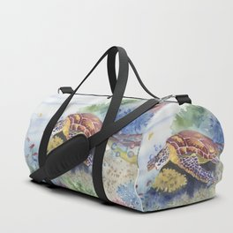 Sea Turtle and Friends Duffle Bag