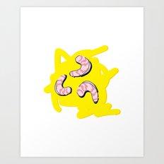Grits Art Print