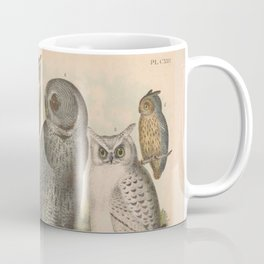 Naturalist Owls Coffee Mug
